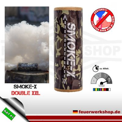 Smoke-X Double XXL Rauchbombe in weiß