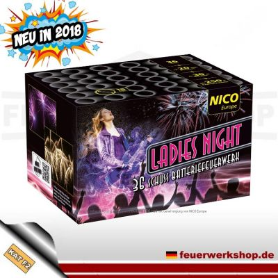 Nico Feuerwerk Batterie *Ladies Night*