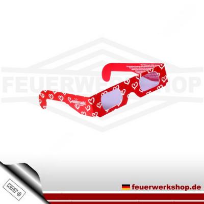 3D Herzbrille