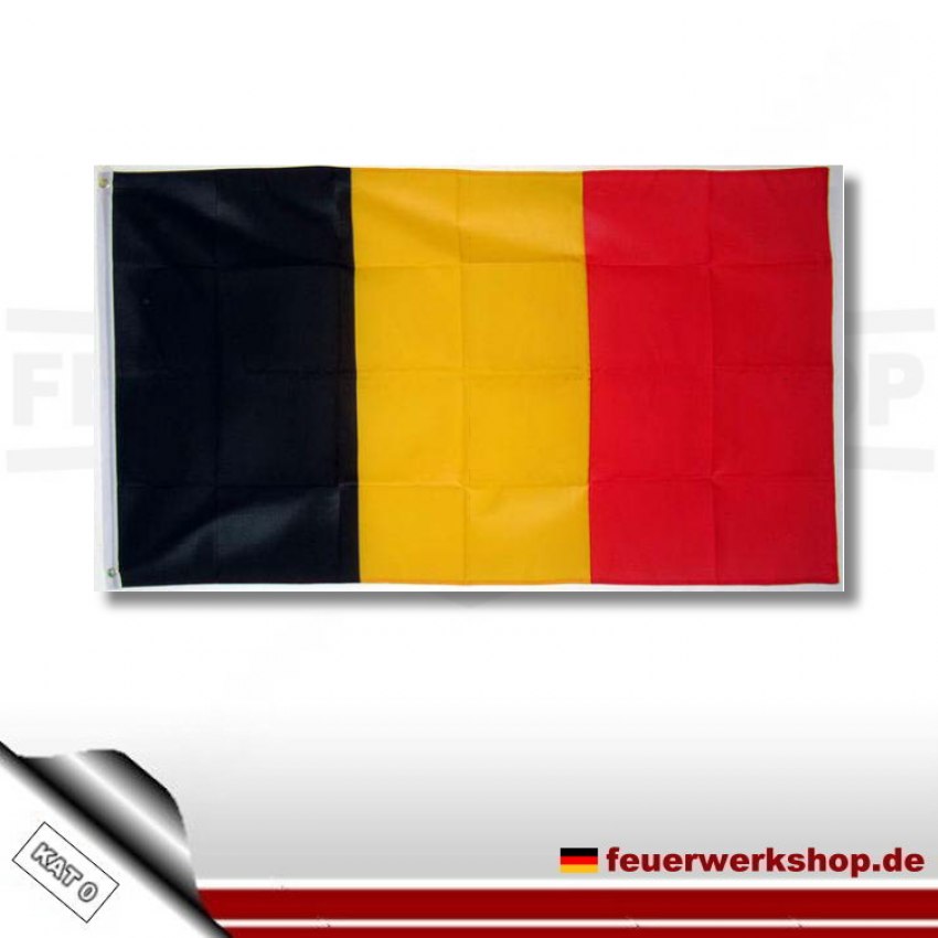 Nationalflagge Belgien