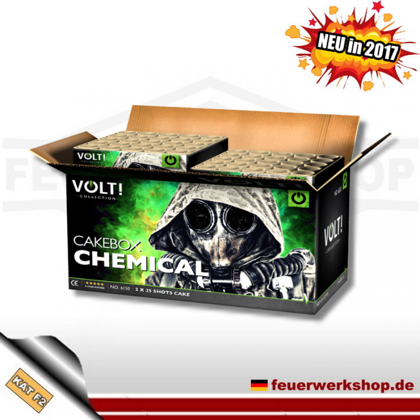 *Chemical Box* 2er Batteriesortiment von Vuurwerktotaal