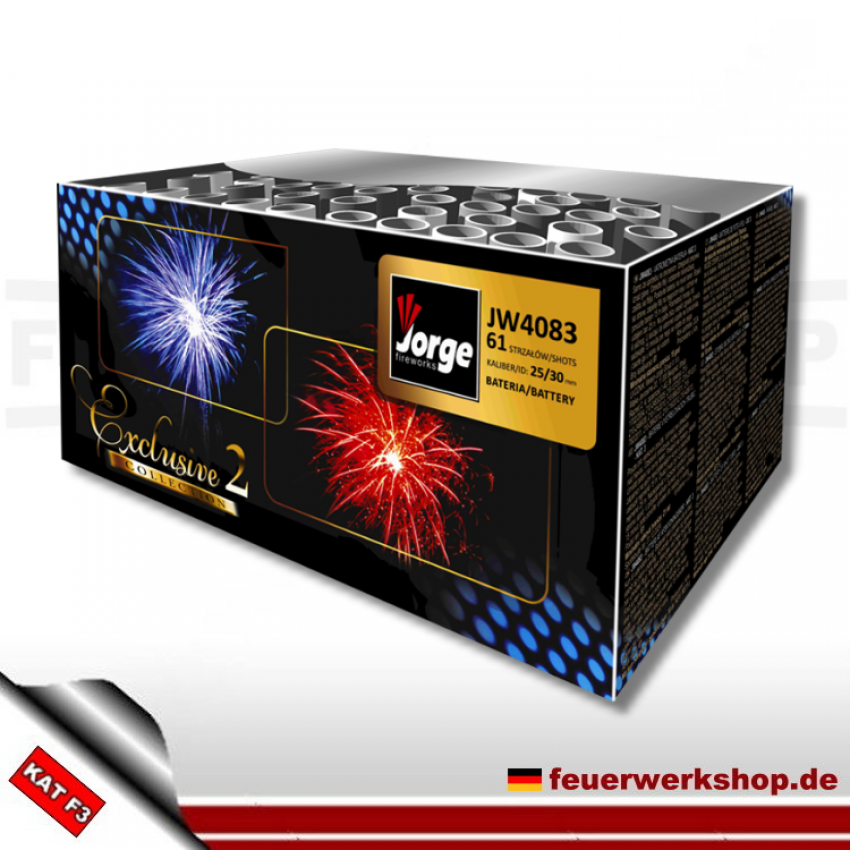 *Exclusive Collection 2* von Jorge Feuerwerk (JW4083)