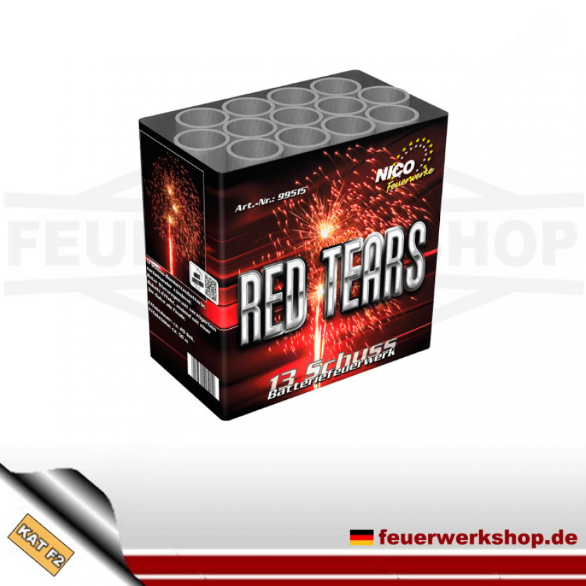 Red Tears (Profi Mix 2) Batteriefeuerwerk