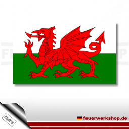 Nationalflagge Wales
