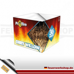 *Chry Willow* Batteriefeuerwerk von Evolution