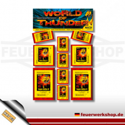 Knallsortiment *World of Thunder* (Break Out) von Nico