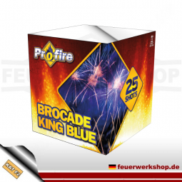 Evolution Batteriefeuerwerk *Brocade King blue*