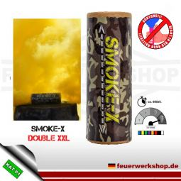 Smoke-X Double XXL Rauchbombe in gelb