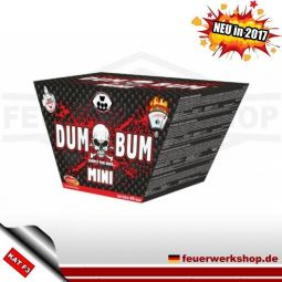 *Dumbum Fan Shape* Klasek Batteriefeuerwerk