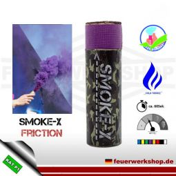 SMOKE-X Rauchgranate mit Reibzündung (Friction) in Lila