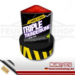 *Triple Thunderking* Single Shots von Katan Fireworks